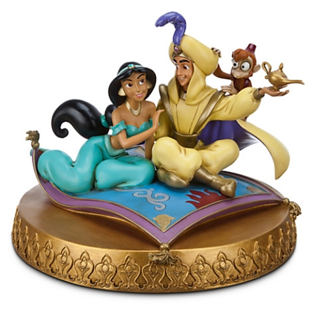Disney Medium Figure Statue - Aladdin and Jasmine