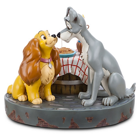 Disney Medium Figure Statue - Lady and the Tramp