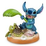 Disney Medium Figure Statue - Stitch 10th Anniversary - Beach