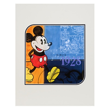 Disney Art Print - Mickey Mouse 1928 - by Costa Alavezos