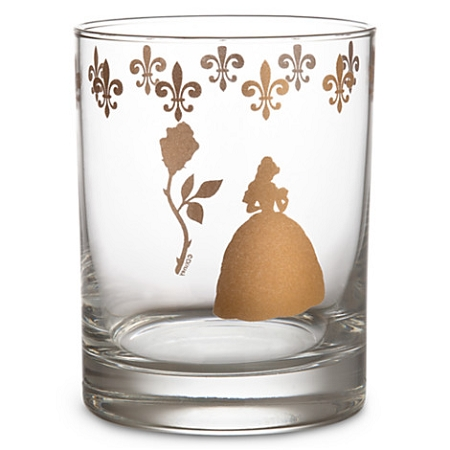 Disney Tumbler Glass - Beauty and the Beast - Be Our Guest