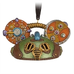 Disney Ear Hat Ornament - Steampunk Mickey - Green