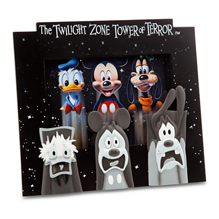 Disney Photo Frame - Twilight Zone Tower of Terror - Mickey & Friends