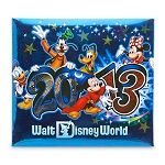 Disney Scrapbook Album Kit - 2013 Sorcerer Mickey Mouse  - Small