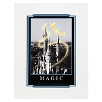 Disney Art Print - Tinker Bell Magic - Cinderella's Castle
