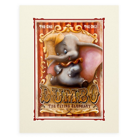 Disney Art Print - Dumbo Circus by Darren Wilson