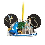 Disney Ear Hat Ornament - Four Parks, One World
