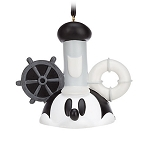 Disney Ear Hat Ornament - Mickey Mouse Steamboat Willie