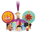 Disney Ear Hat Ornament - it's a small world