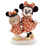 Disney Precious Moments Figurine - Minnie Mouse and Girl - Minnie & Me