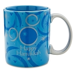 Disney Coffee Mug - Happy Hanukkah - Mickey Mouse Icon