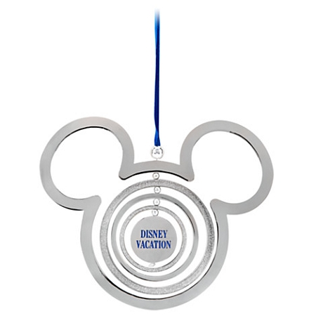 Disney Christmas Ornament - Mickey Mouse Disney Vacation - Spinner