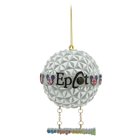 - Disney Christmas Ornament - Mickey Mouse Spaceship Earth - Epcot