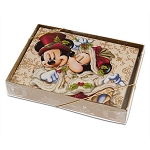 Disney Holiday Card Set - Victorian Mickey and Minnie Mouse