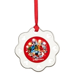 Disney Disc Ornament - 2014 Sorcerer Mickey Mouse Snowflake