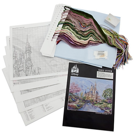 Disney Cross Stitch Set - Cinderella Castle - Walt Disney World