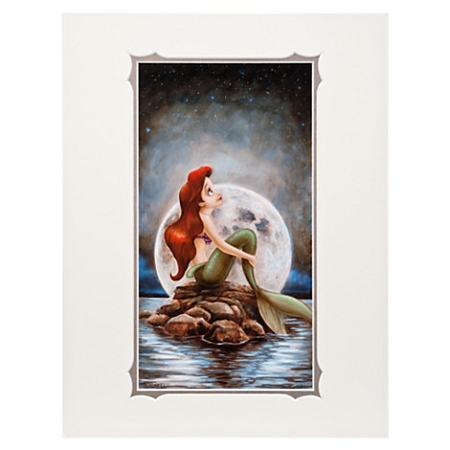Disney Art Print - Ariel ''Little Mermaid'' by Darren Wilson