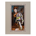 Disney Art Print - Toy Story ''Buzz & Woody'' by Darren Wilson