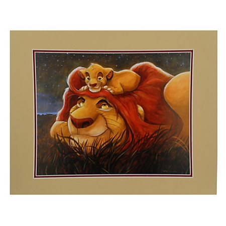 Disney Art Print Lion King The Bond By Darren Wilson