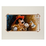 Disney Art Print - Mickey Mouse ''Fire Fighter Mickey'' by Darren Wilson