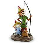 Disney Medium Figure Statue - Robin Hood and Skippy