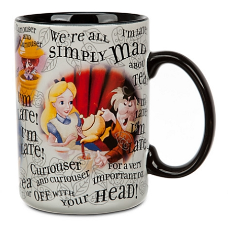 Disney Coffee Mug - Alice in Wonderland - Simply Mad