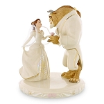 Disney Lenox Figurine - Beauty and the Beast - Belle's Wedding Dreams