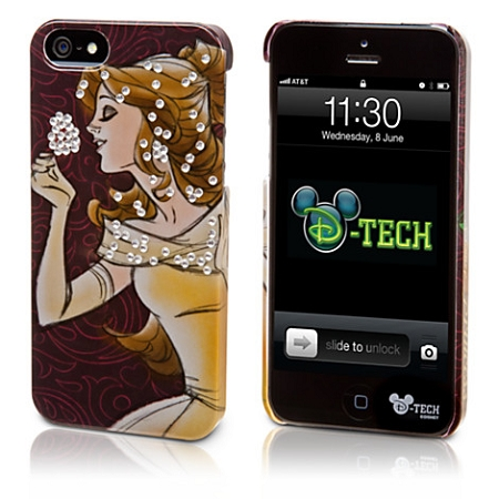 Disney Iphone 5 Case - Belle -  Gemstone Studs