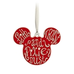 Disney Disc Ornament - Mickey Mouse - Faith Trust Pixie Dust