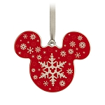 Disney Disc Ornament - Mickey Mouse - Snowflake