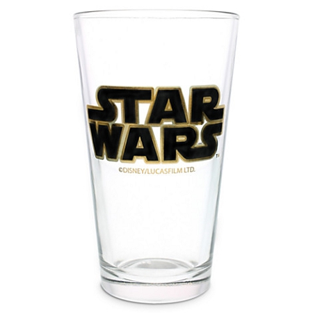 Disney Tumbler Glass - Star Wars Logo