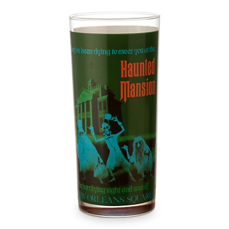 Disney Glass Tumbler - Haunted Mansion/Pirates of the Caribbean - Tall