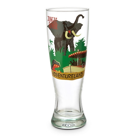 Disney Pilsner Glass - Jungle Cruise - Attraction Poster