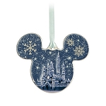 Disney Disc Ornament - Mickey Mouse - Fantasyland Castle