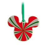 Disney Disc Ornament - Mickey Mouse - Peppermint
