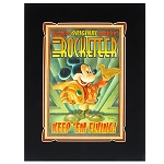 Disney Art Print - Mickey Mouse as The Rocketeer