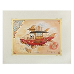 Disney Art Print - Mickey Mouse - Mickey's Steam Powered Airship