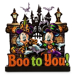 Disney Halloween Sign - 3-D Haunted Mansion - Boo to You