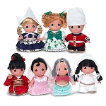 Disney Precious Moments Doll Set - It's a Small World