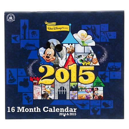 Disney Calendar 2014 To 2015 Walt Disney World Resort