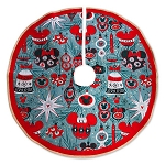 Disney Christmas Tree Skirt - Retro Mickey and Minnie Mouse Ornaments
