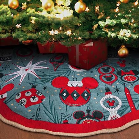 Disney Christmas Tree.Disney Christmas Tree Skirt Retro Mickey And Minnie Mouse Ornaments