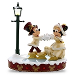 Disney Medium Figure - Mickey & Minnie Victorian Skate - Light Up