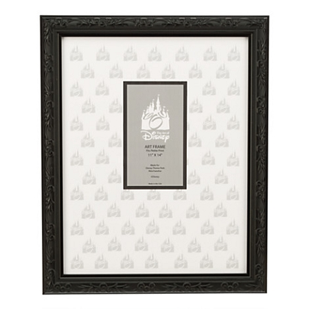Disney Art Print Frame - Mickey Mouse Black Frame - 11'' x 14''