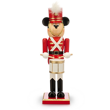 Disney Nutcracker Figure - Mickey Mouse Toy Soldier - Medium