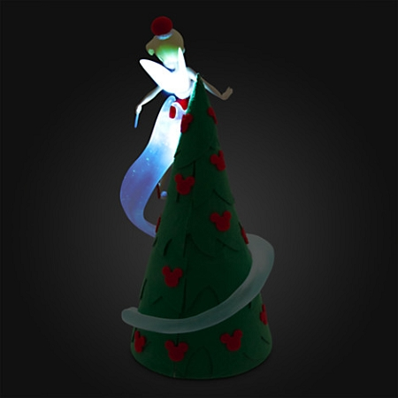 Disney Christmas Tree Topper Tinker Bell Retro Light Up - Tinkerbell Tree Topper 2016 - Image Home Garden And Tree Rtecx.Com