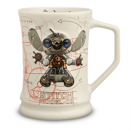 Disney Coffee Mug - Steampunk Stitch - Robot