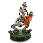 Disney Medium Figure Statue - Halloween Goofy Mummy - Light Up