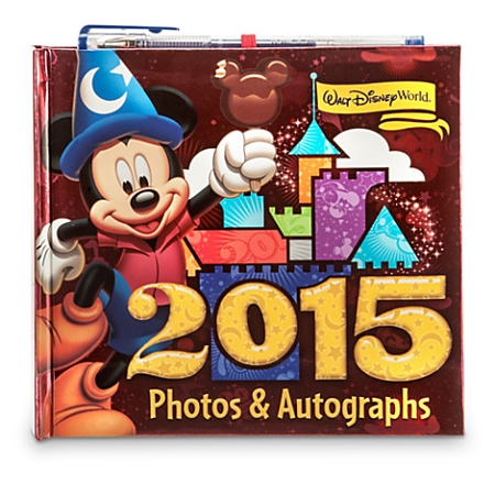 Disney Photo and Autograph Book - 2015 Sorcerer Mickey Mouse