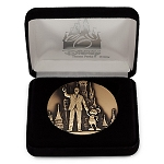 Disney Medallion - Partners - Walt Disney and Mickey Mouse - SILVER
